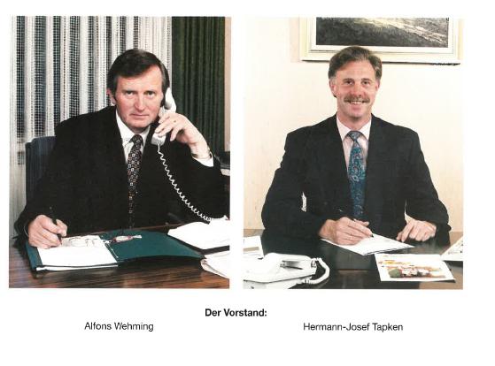 Vorstand 1995