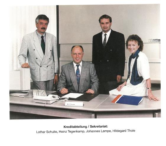 Kreditabteilung 1995