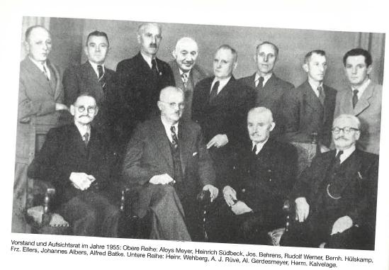 Vorstand und Aufsichtsrat 1955