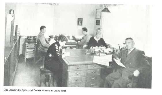 Mitarbeiter 1955