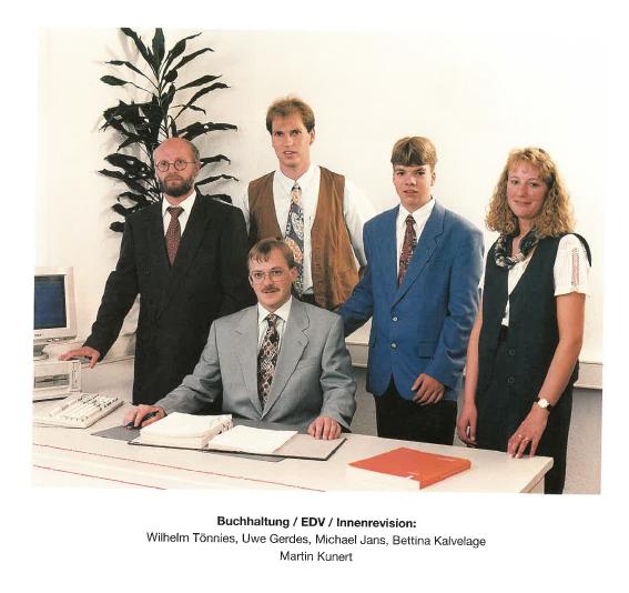 Betriebsbereich 1995